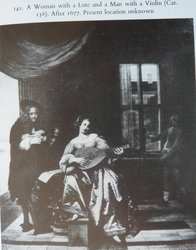 A Woman with a Lute and a Man with a Violin
