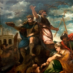An Allegory of Prophecy (King Numa and Augurs)