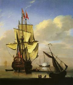 An English War Ship