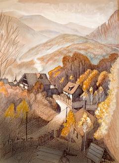 Autumn. Shayan, Zakarpattia.