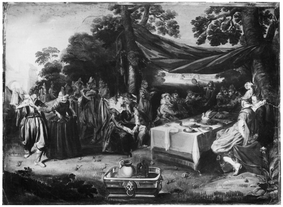 Banquet in a Park