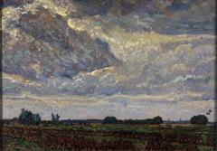 Buiig weer (landschap bij Montfoort)