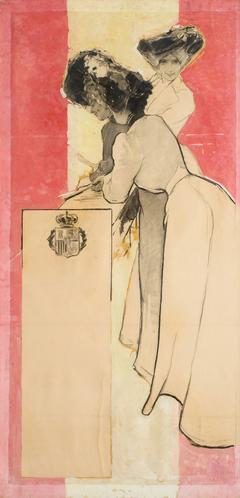 Cartel para fiestas de 1902