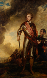 Charles Stanhope, third Earl of Harrington, and a Servant