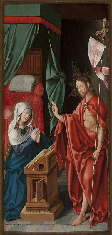 Christ appearing before Mary