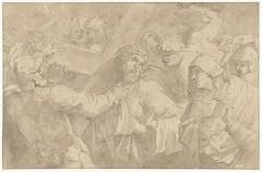 Christus op de kruisweg, sprekend met de vrouwen