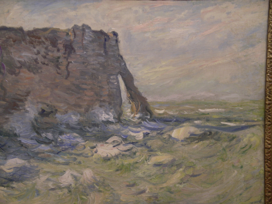 Cliff and Porte d'Aval by Stormy Weather