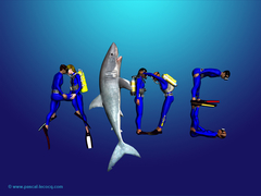 COOL DIVING AT AIDE - by Pascal