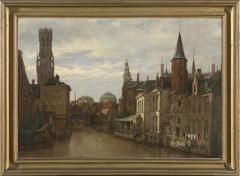 De Rozenhoedkaai in Brugge