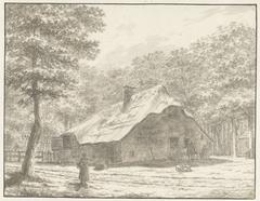De schilderskroeg Zeeburg te Muiderberg