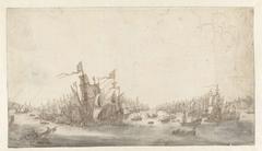 De zeeslag bij Duins