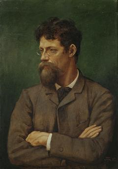 Der Maler Albert Lang