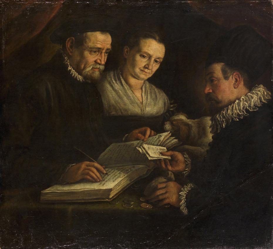 Der Wechsler Orazio Lago, seine Frau und ein Klient