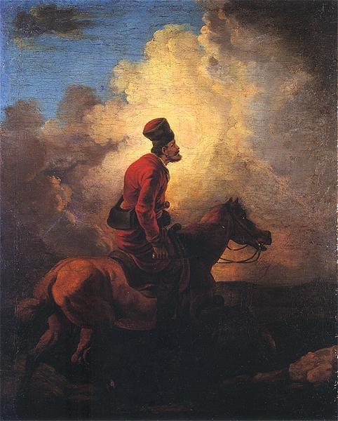 Don Cossack on horse.