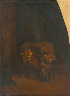 Drinking in a Cellar