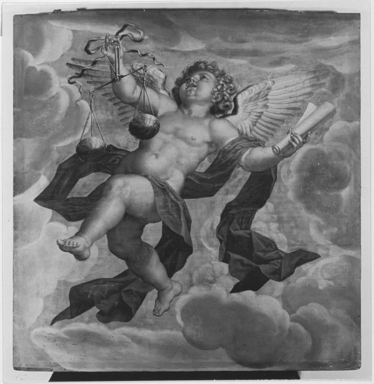 Engel mit Waage