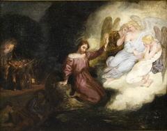 Etude pour Le Christ au Jardin des Oliviers