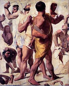 Études pour le Martyre de saint Symphorien