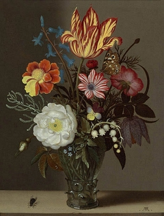 Flowers in a Rummer with a Tulip at the Top
