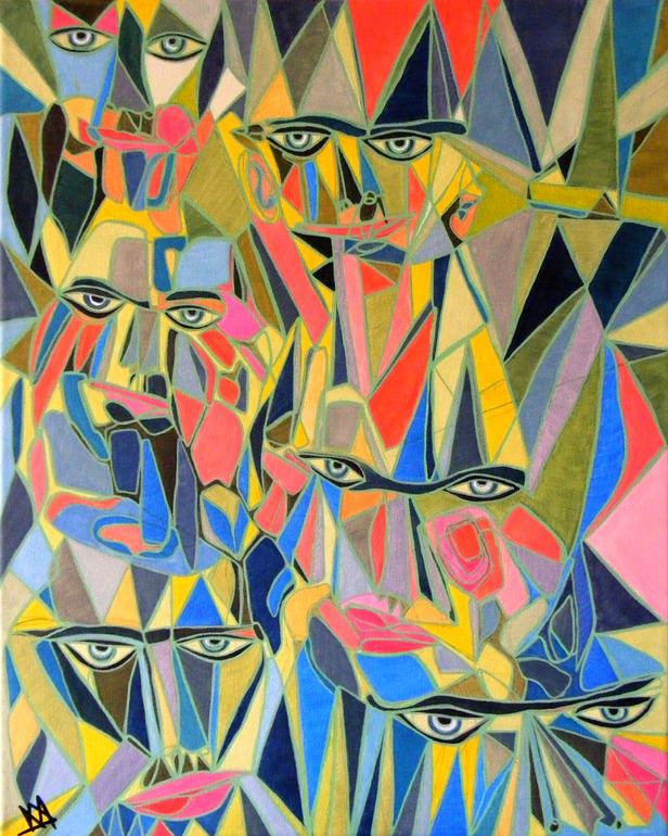 Fragmented Faces