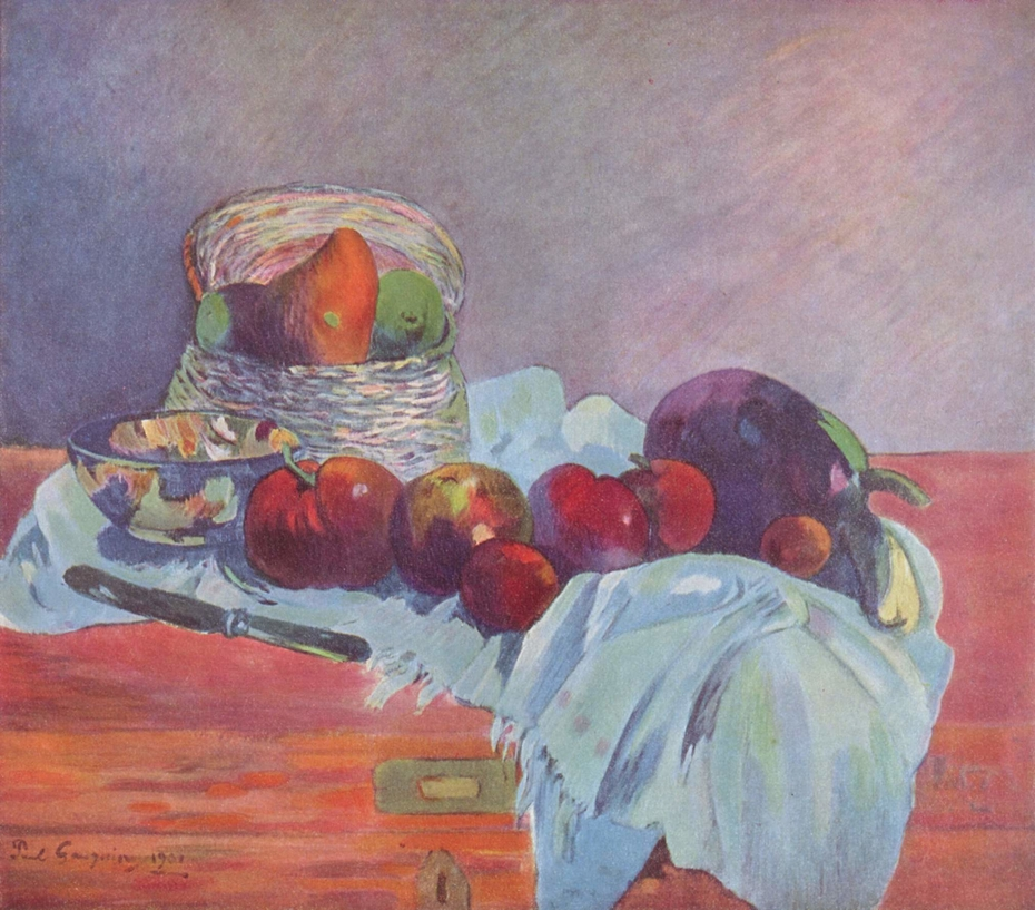 Fruits and Knife