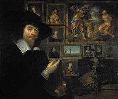 George Jamesone, 1589 / 1590 - 1644. Portrait painter (Self-portrait)