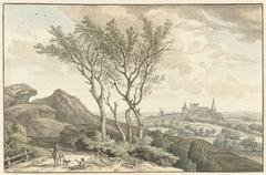 Gezicht op het kasteel van Bentheim