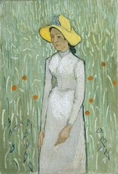Girl in White
