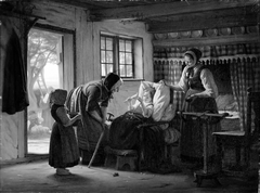 Granmother's visit to the little Convalescent