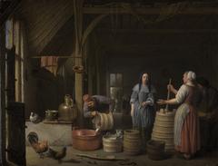 Häusliche Milchverarbeitung