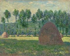 Haystack near Giverny
