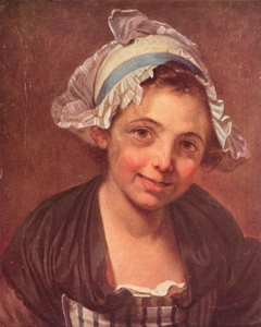 Head of a Young Girl in a Bonnet