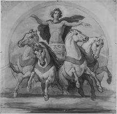 Helios mit dem Rossegespann