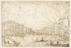 Het Canal Grande te Venetië