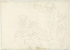 Het vertrek van Willem V naar Engeland, 17 januari 1795