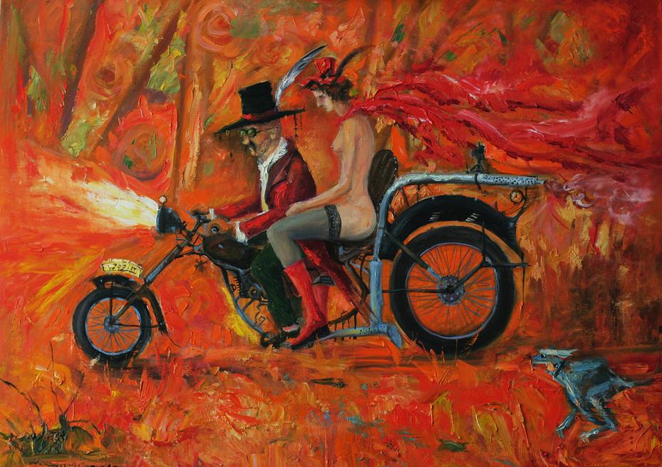 Impassive rider