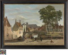 Ingang van het Begijnhof in Brugge