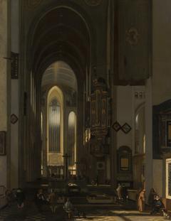 Interior of an Imaginary Catholic Church