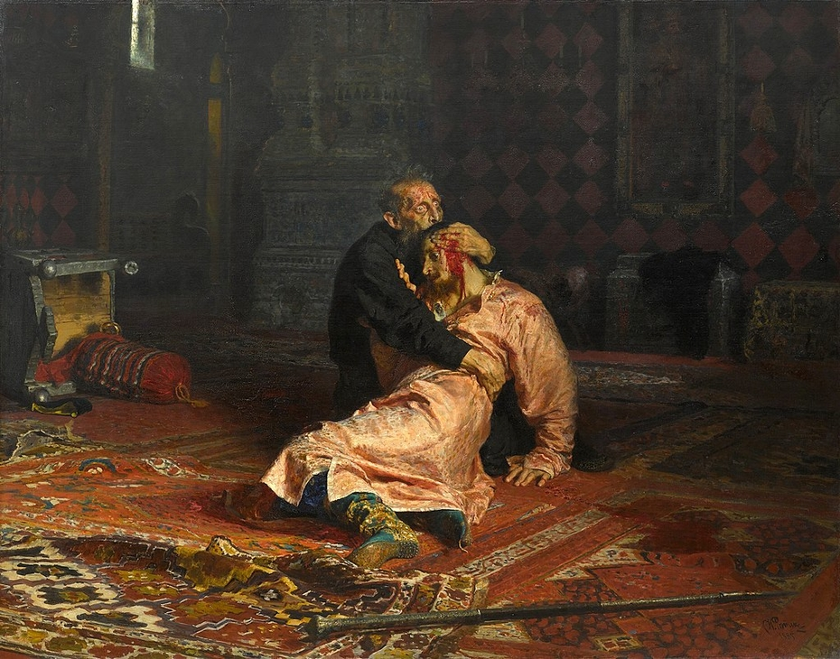 Ivan the Terrible and His Son Ivan on 16 November 1581