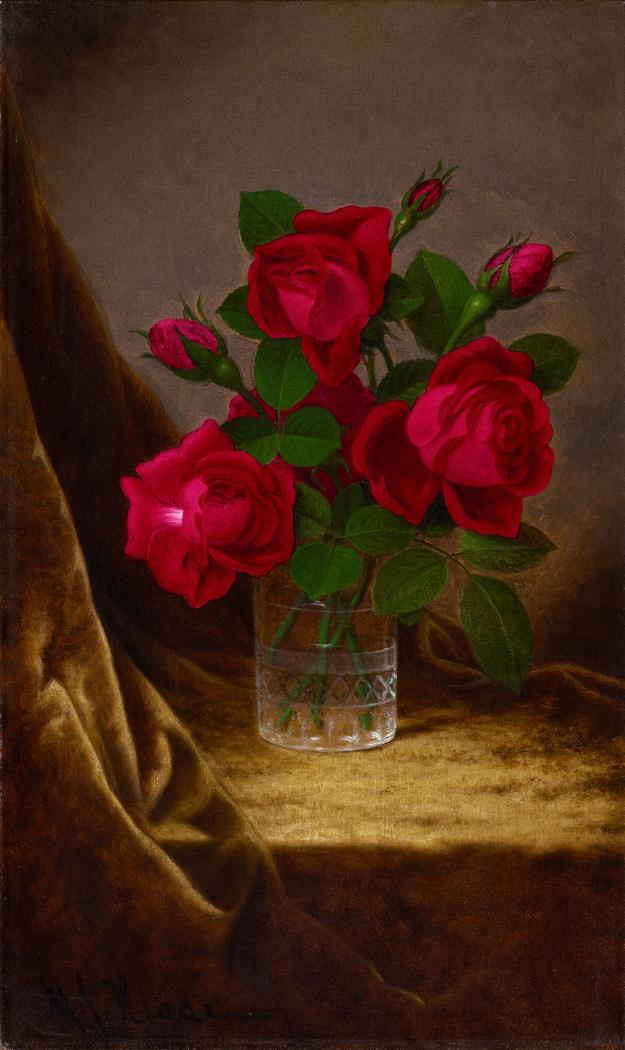 Jacqueminot Roses