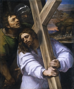 Jesus carrying the Cross