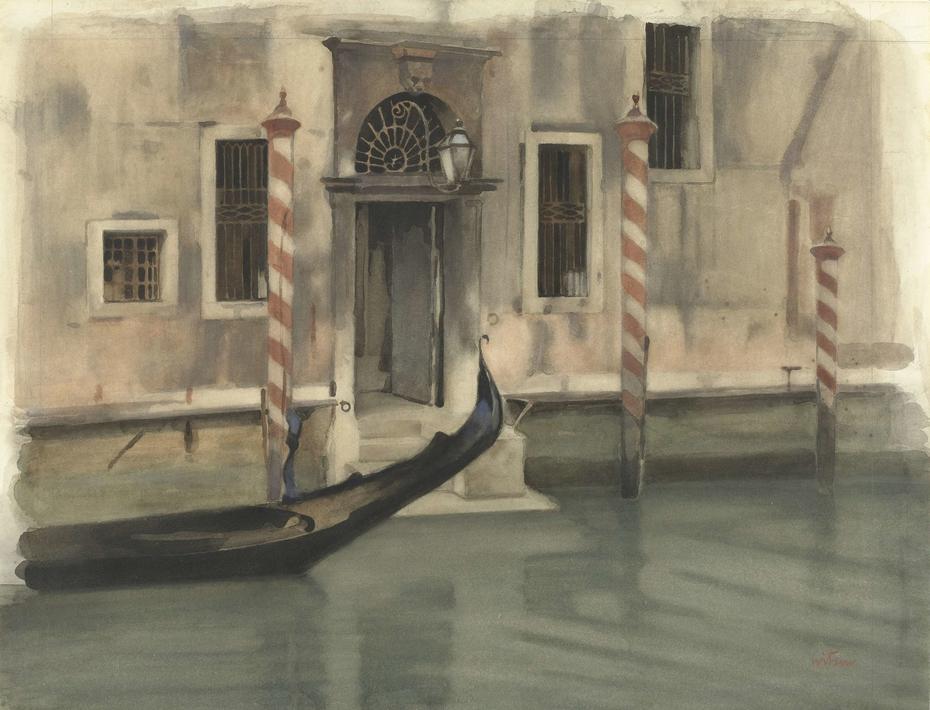 Kanaal te Venetië