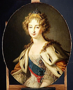L'Imperatrice Élisabeth Alexeievna, épouse du tsar Alexandre Ier