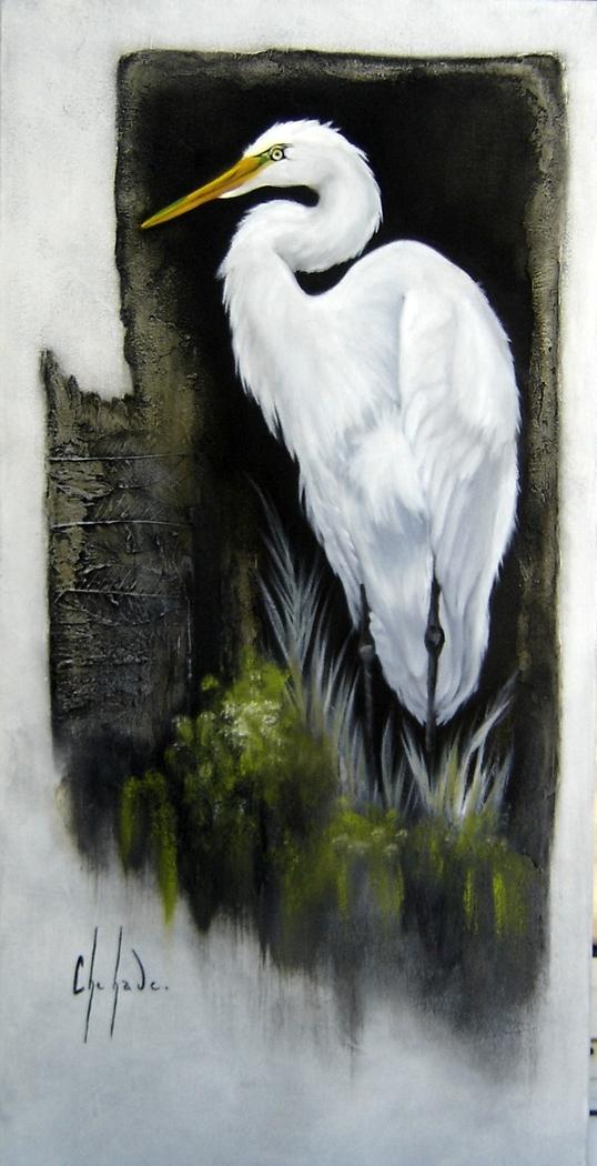 L'oiseau des marais