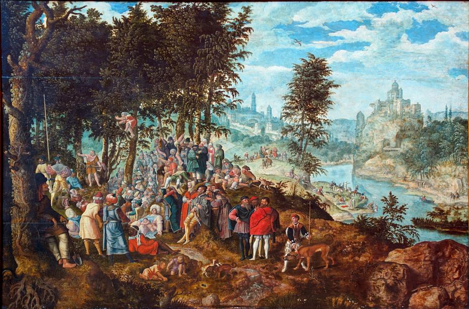 La prédication de saint Jean Baptiste