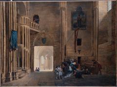 La Reine Blanche de Castille délivrant les prisonniers