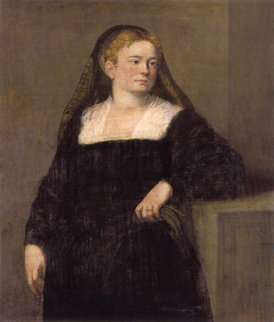 Lady in Mourning