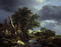 Landscape with a Blasted Tree near a House
