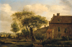 Landscape with a Country House among Trees