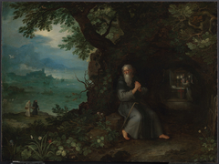 Landscape with St. Fulgentius